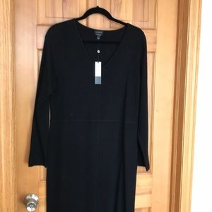 Sweater dress, black, new with tags